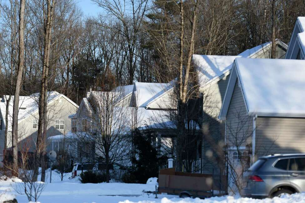 Street where Kymberly Amodio has rented out her home for 10 years on weekends over the summer on Monday, Feb. 17, 2020, in Ballston Spa, N.Y. She is upset with a proposed Milton rule calling for $250 fees and inspections on short-term home rentals. (Will Waldron/Times Union)
