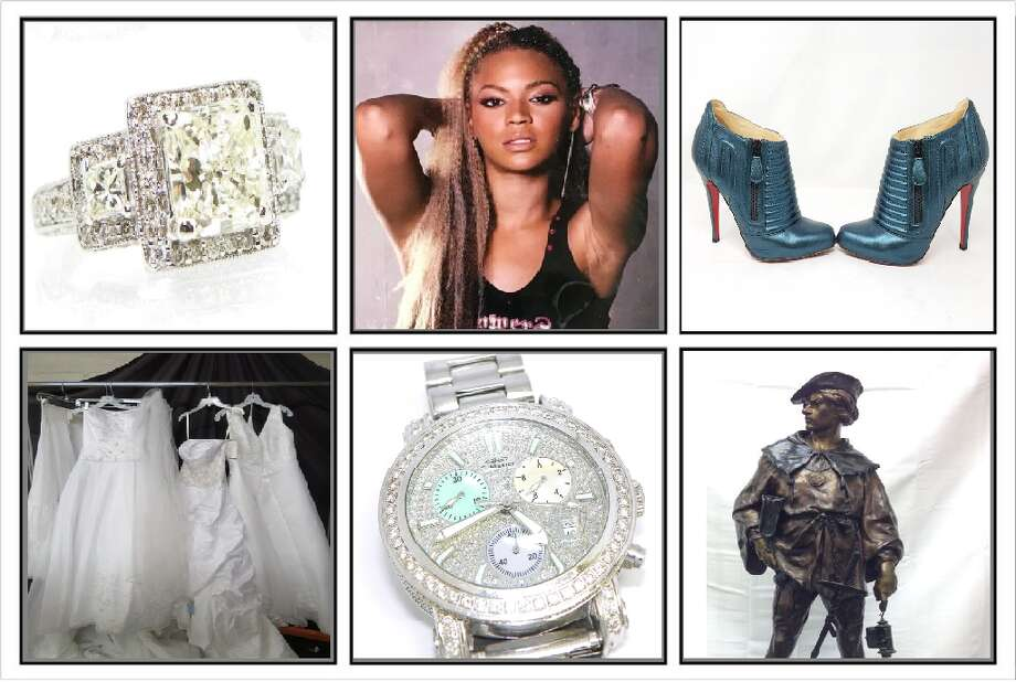 Bargain hunters can find buried treasured at shopgoodwill.com. From a Diamond ring appraised at $31,000 priced at $7,455 to a grab lot of wedding dresses for $50. >>> Click to see some of the great bargains and weird items we found. Prices as of Feb. 17, 2020 Photo: Shopgoodwill.com