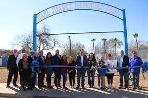 El Cenizo Park was renamed the Gael Juarez Memorial Park in a dedication ceremony