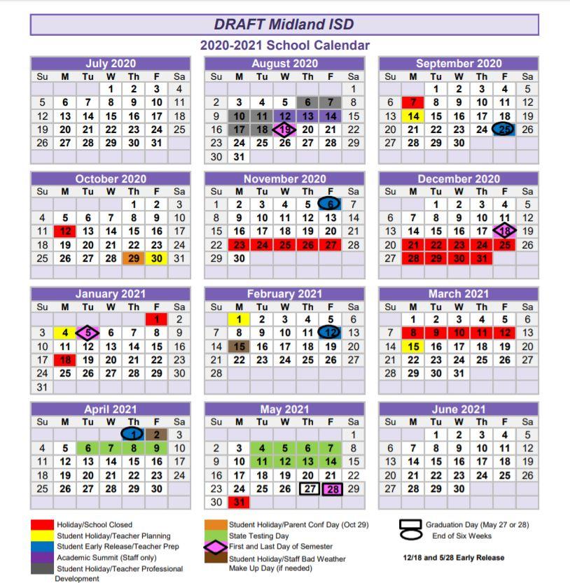 Misd Leaders To See Draft Of K 5 Calendar