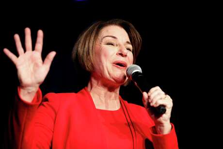 Democratic presidential candidate Sen. Amy Klobuchar, D-Minn. is the Houston Chronicle Editorial Board's choice in the March 3 Texas primary.