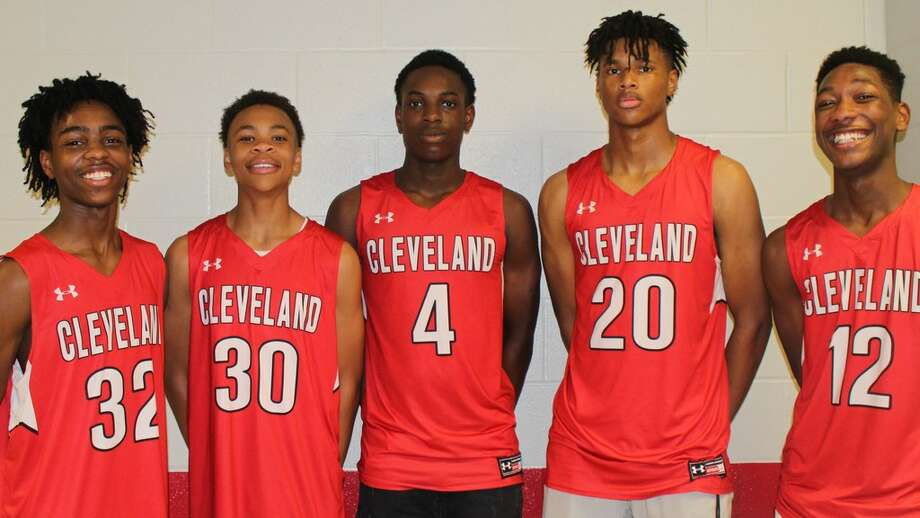 Cleaveland's #30 Jevarrick Butler pictured with teammates Photo: Adam Coleman