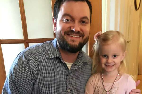 Nathan Averill and his daughter Abby