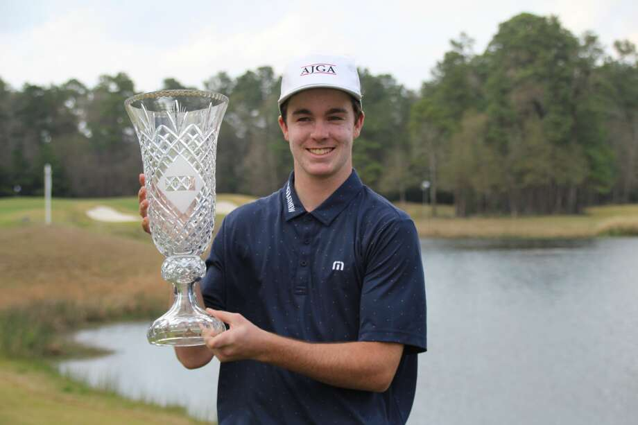 Luke Potter overwhelmed the field at the Simplify Boys Championship at The Club at Carlton Woods on Feb. 15-17, 2020. Photo: AJGA