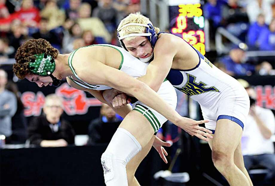 Bad Axe graduate Ryan Wehner, who ended his career as a Hatch with a 160-31 record, will wrestle for Lake Erie College. (Huron Daily Tribune, File) Photo: Tribune File Photo