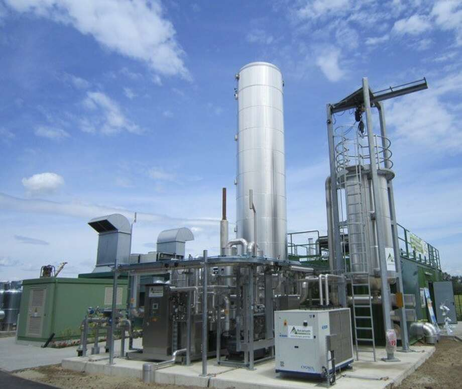 London-based Carbon Clean Solutions Limited owns and operates this carbon capture plant in Canada. The company received $16 million from WAVE Equity Partners, Chevron Technology Ventures and Marubeni Corporation. Photo: Carbon Clean Solutions Limited