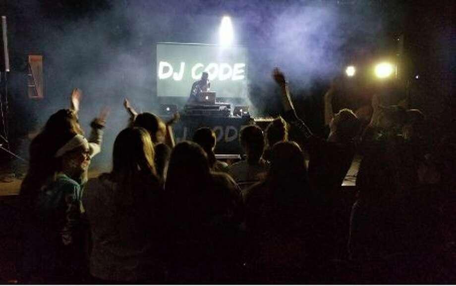 Hip hop artist Beacon Light recently held a concert at Hemlock High School. (Photo provided)
