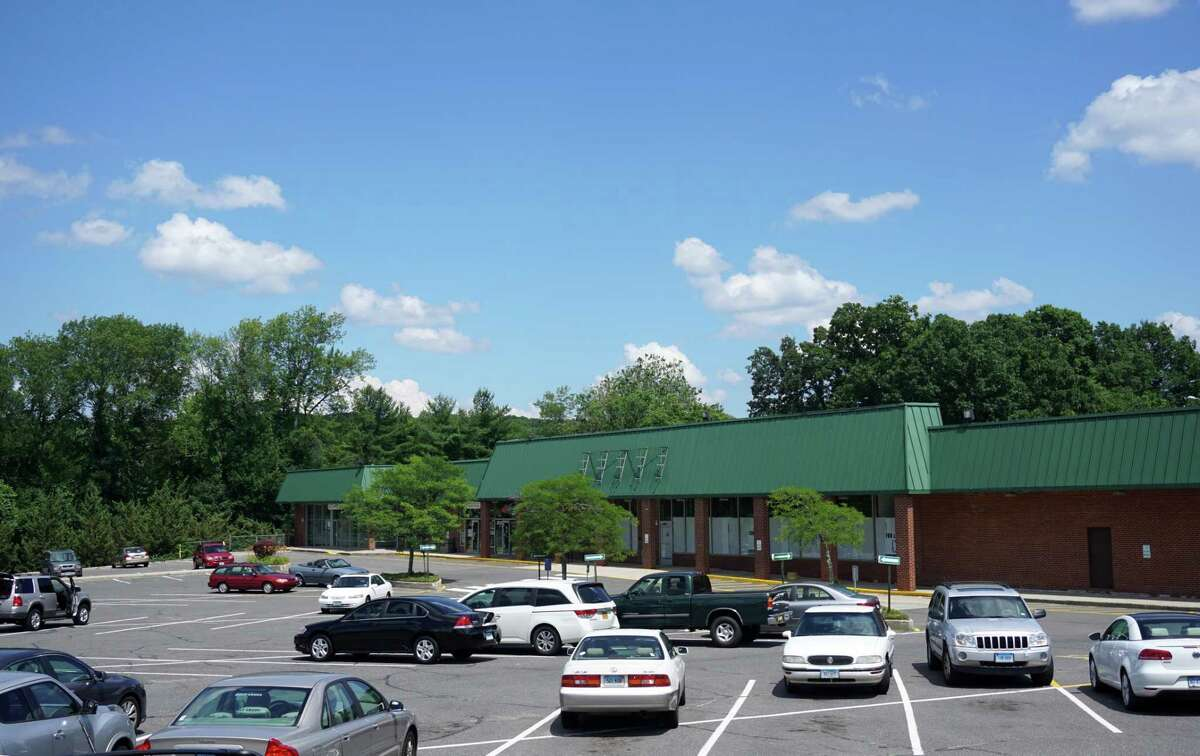 The former Porricelli's Food Mart sits vacant on July 5, 2016. The store, which was the largest retail space in Trumbull Center, closed in 2012.