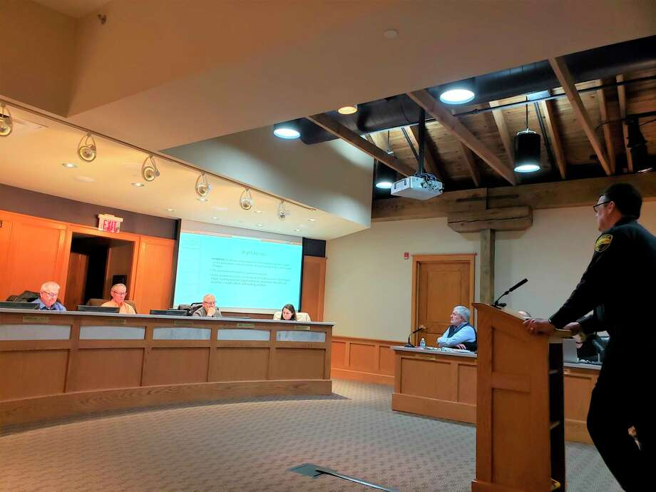 """Blight committee leader, Tim Kozal saidpart of the committee's goal was to discuss and """"provide recommendations to city council on the prevention and elimination of contributing factors and causes of blight.""""(Arielle Breen/News Advocate)"""