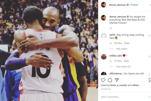 17. DeMar DeRozan only has three posts at the moment and it seems he deleted a few pictures from a while back.