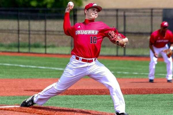 SIUE right-handed pitcher Kenny Serwa delivers a pitch during an outing last season.