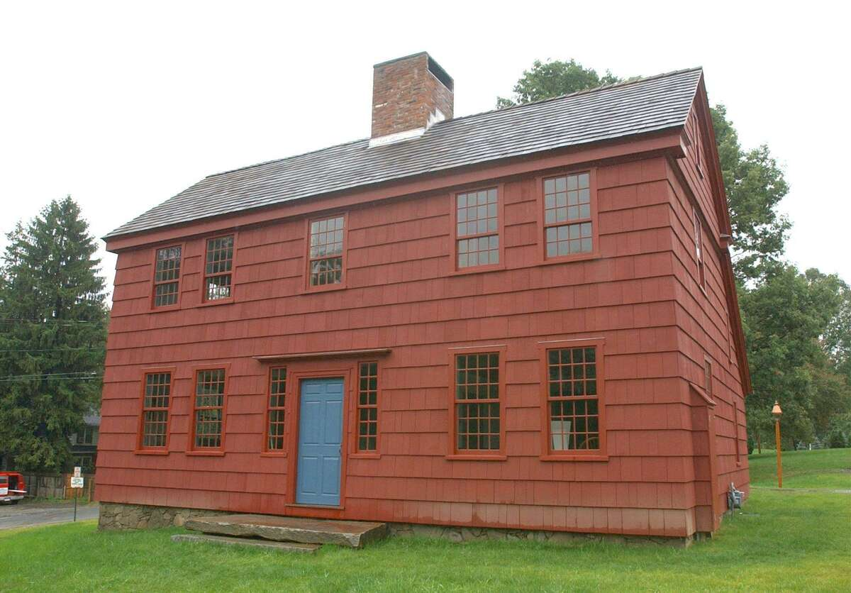 The Ridgefield Historical Society's Scott House headquarters.