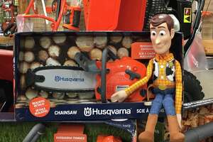 """Killingworth True Value is searching for the owner of this """"Woody"""" doll that was found on February 9, 2020."""