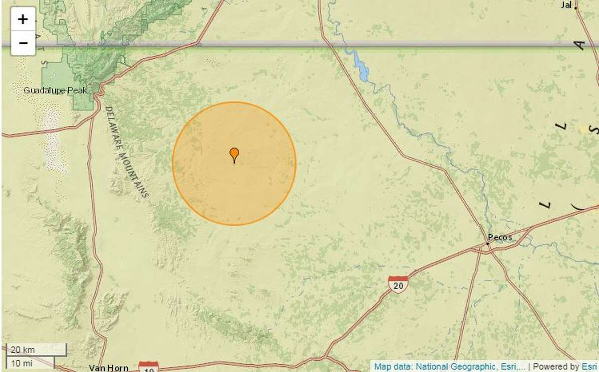 A 3.2-magnitude quake took place at 7:22 a.m. Tuesday, Feb. 18, about 44.7 miles west of Mentone. The USGS said the depth was 3.10 miles.