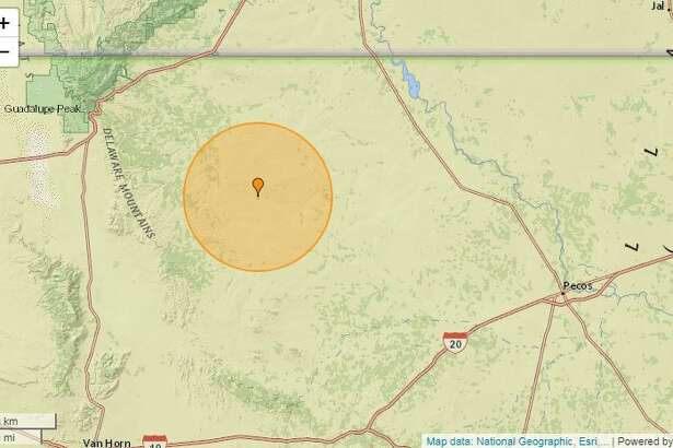 A 3.2-magnitude quake took place at 7:22 a.m. about 44.7 miles west of Mentone. The USGS said the depth was 3.10 miles.