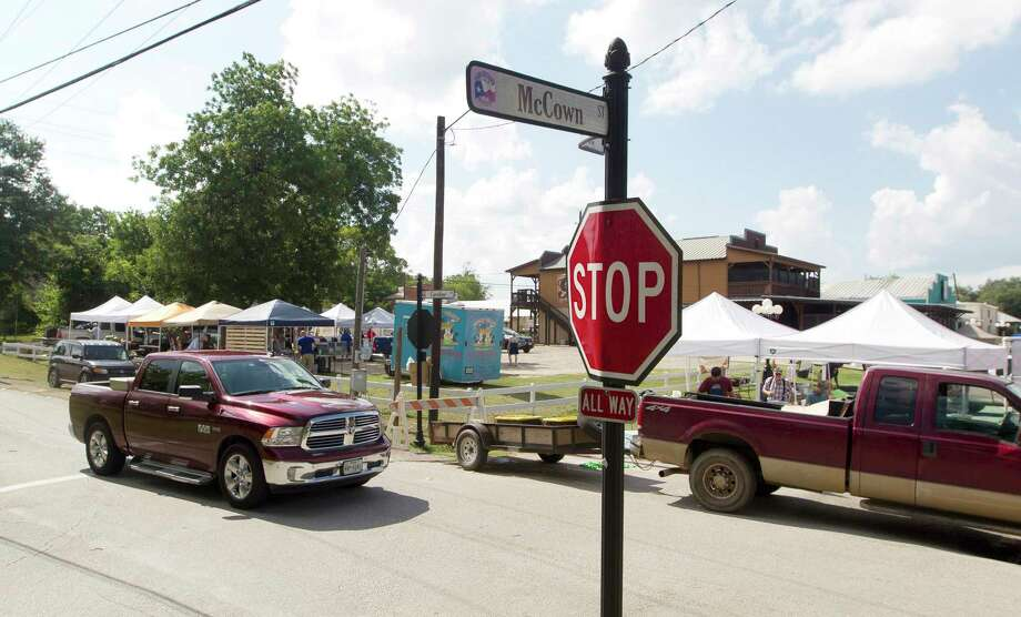A farmer market is seen from McCown Street and Caroline Street in downtown Montgomery. Montgomery may soon have more scoops of ice cream available in its historic downtown district. Photo: Jason Fochtman, Staff Photographer / Houston Chronicle / Internal