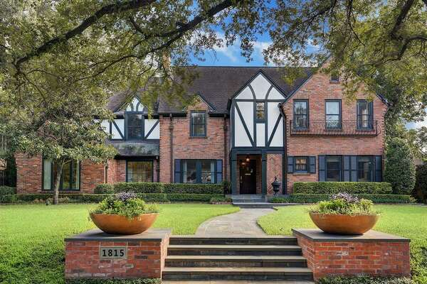 Boulevard Oaks Historic District: 1815 North Boulevard List price: $3.15 million Square feet: 4,616