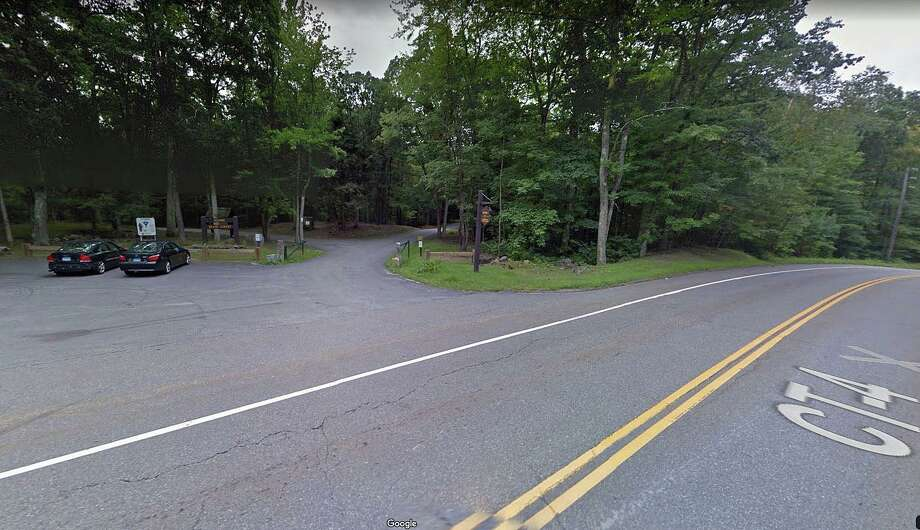 Removal of harzardous roadside trees will require the closure of the main road system in Mohawk Mountain State Forest in Cornwall. Photo: Google Street View Image