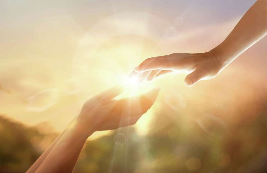 God's helping hand Photo: Dreamstime