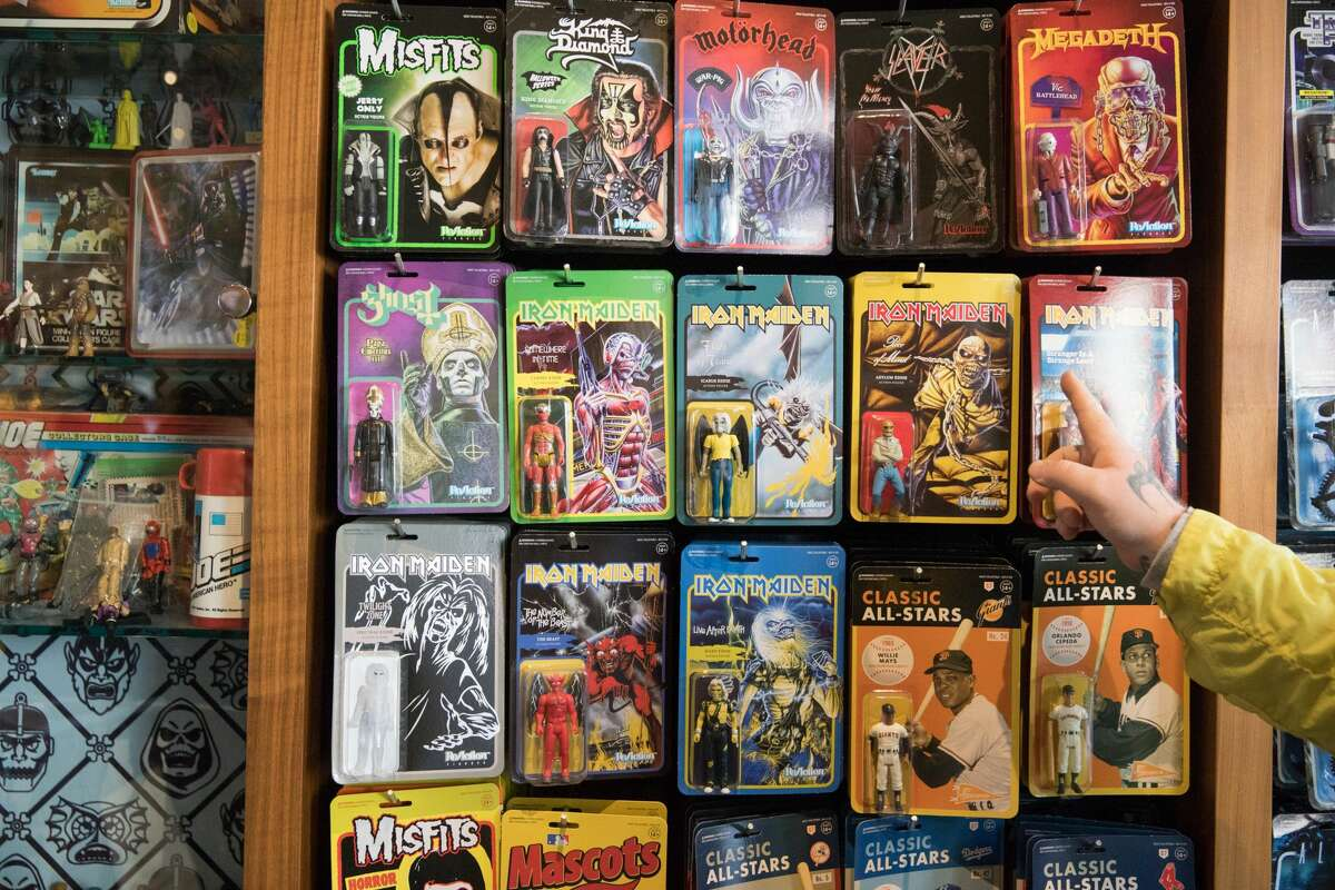 Super7 is a toy store in the Mission District that redesigns vintage action figures from the '80s and '90s and also has a large selection of vintage-inspired T-shirts.