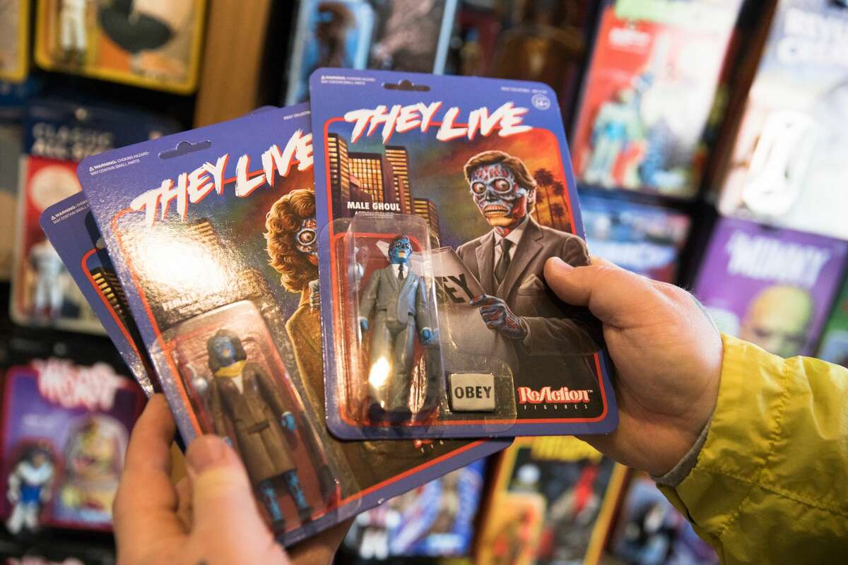 Action figures based off the movie