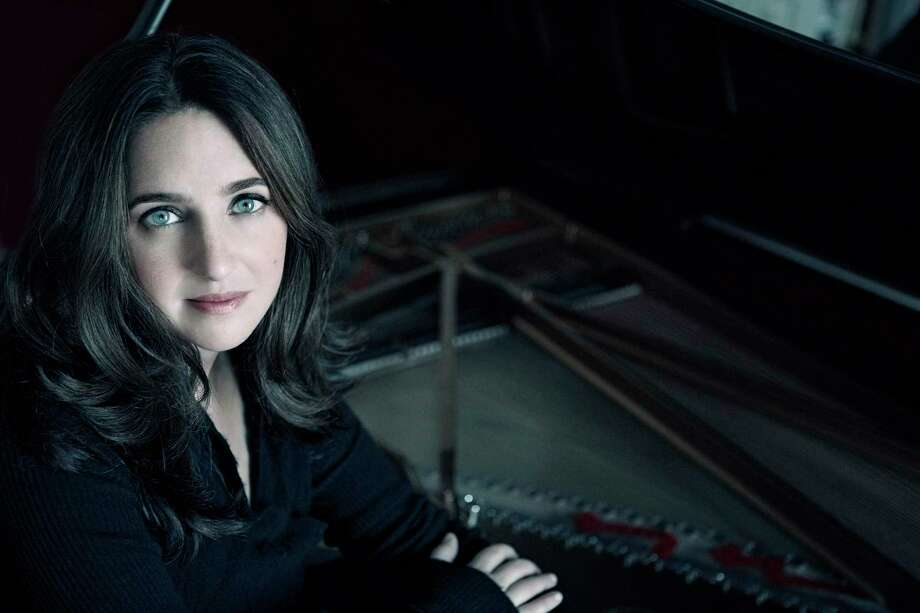 """Music for the Ages,"" aconcert to benefit the future of classical music on Fairfield-based WSHU Public Radio, will be at MoCA Westport March 28. Pictured is noted Bach interpreter and pianist Simone Dinnerstein. Photo: Lisa-Marie Mazzucco / Wshu.org"