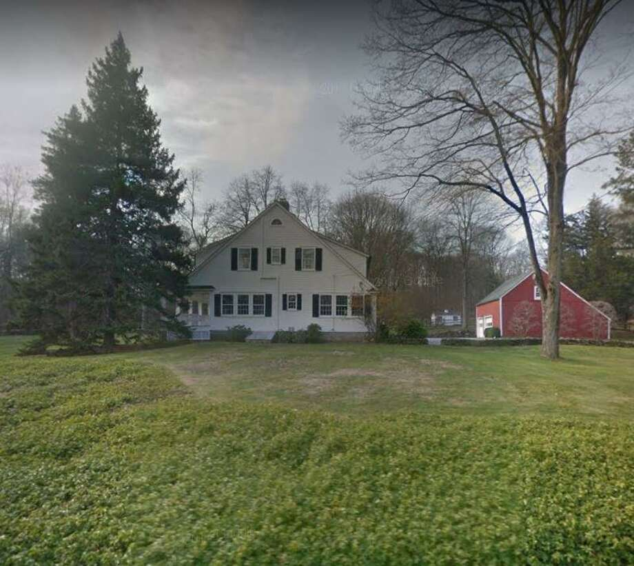 A home at 58 Valley Road in New Canaan, Connecticut sells for $1,727,230. Photo: Photo: Google Street View