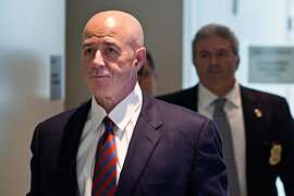 FILE -- Bernard Kerik, the former New York police commissioner, at court in the Bronx on Oct. 15, 2012. Kerik, who was convicted of tax fraud and lying to the government, was pardoned by President Donald Trump on Feb. 18, 2020. (Andrew Burton/The New York Times)