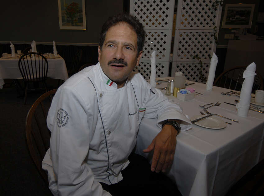 Chef Rocco Verrigni at Schenectady Community College in 2006, days before he leaves for Italy and an intensive training course in advanced cooking.