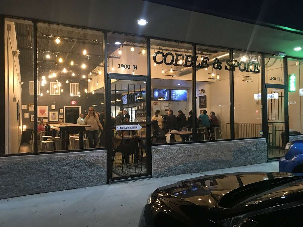 Cobble and Spoke: 1900 Blalock Craft beer bar with a wide selection of local brews.