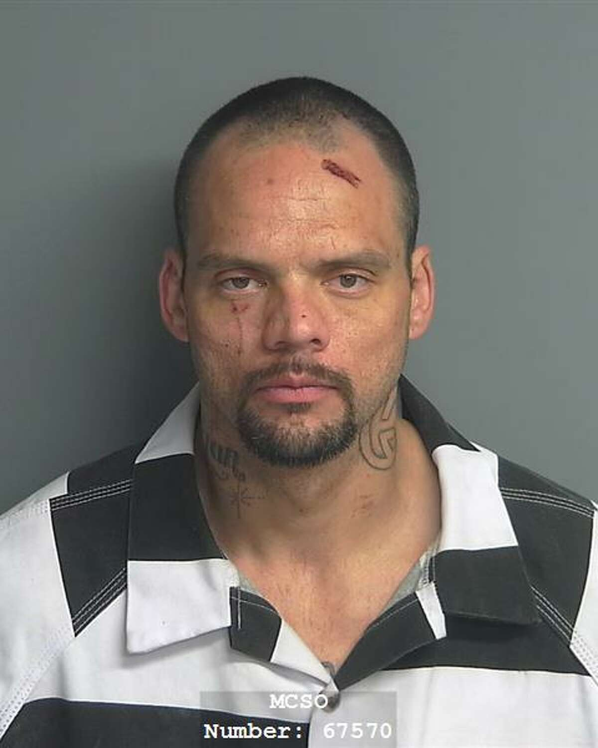 Dylan Gregory Brown, 36, of Magnolia, is being charged with evading arrest with a vehicle, a third-degree felony, burglary of building, unauthorized use of a vehicle, both state jail felonies, resisting arrest, search or transportation, and evading arrest, both Class A misdemeanors.