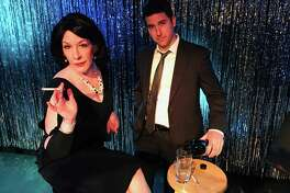 """Kelly Boucher and Chris Pearson star in """"Looped."""""""