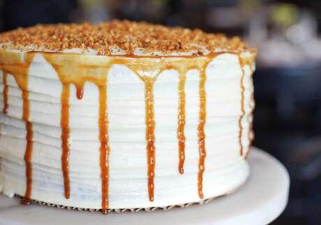 Carrot cake at Relish