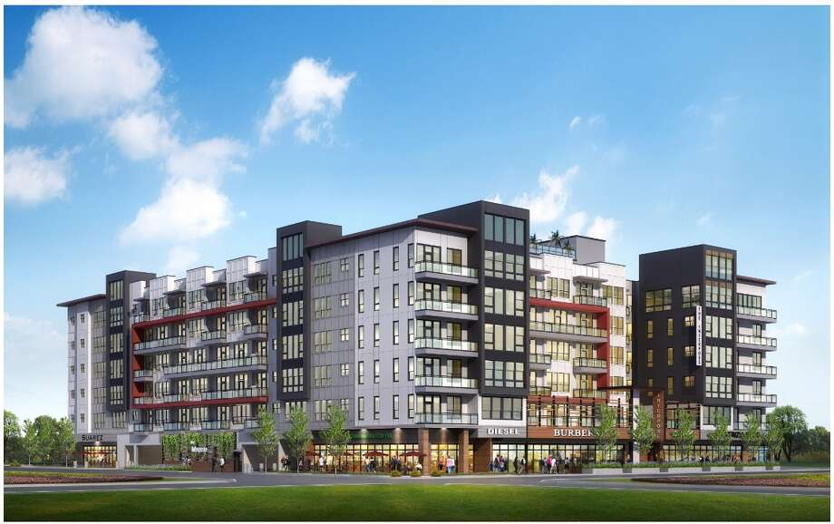 Hunington Properties is developing a 126,500-square-foot, mixed-use multifamily project at 1107 Shepherd Drive. The six-story building will contain 168 residential units. Photo: Parkview Financial