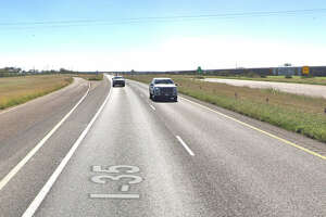 The crash was reported at about 5:34 p.m. on mile marker 29 of the southbound lane of I-35.