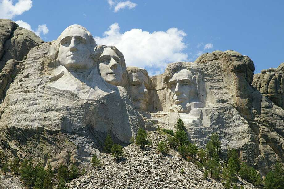 ** FILE ** In this July 18, 2006 file photo, Mount Rushmore National Memorial is shown near Keystone, S.D. (AP Photo/Dirk Lammers, File) Photo: DIRK LAMMERS / AP File Photo / AP2006