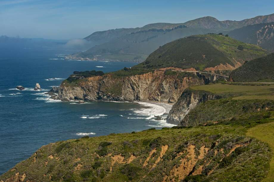 FILE: -- Two people died early Tuesday morning after a car went off state Highway 1 and fell roughly 300 feet down a cliff in southern coastal Monterey County, according to the California Highway Patrol. Photo: Edmund Lowe Photography/Getty Images