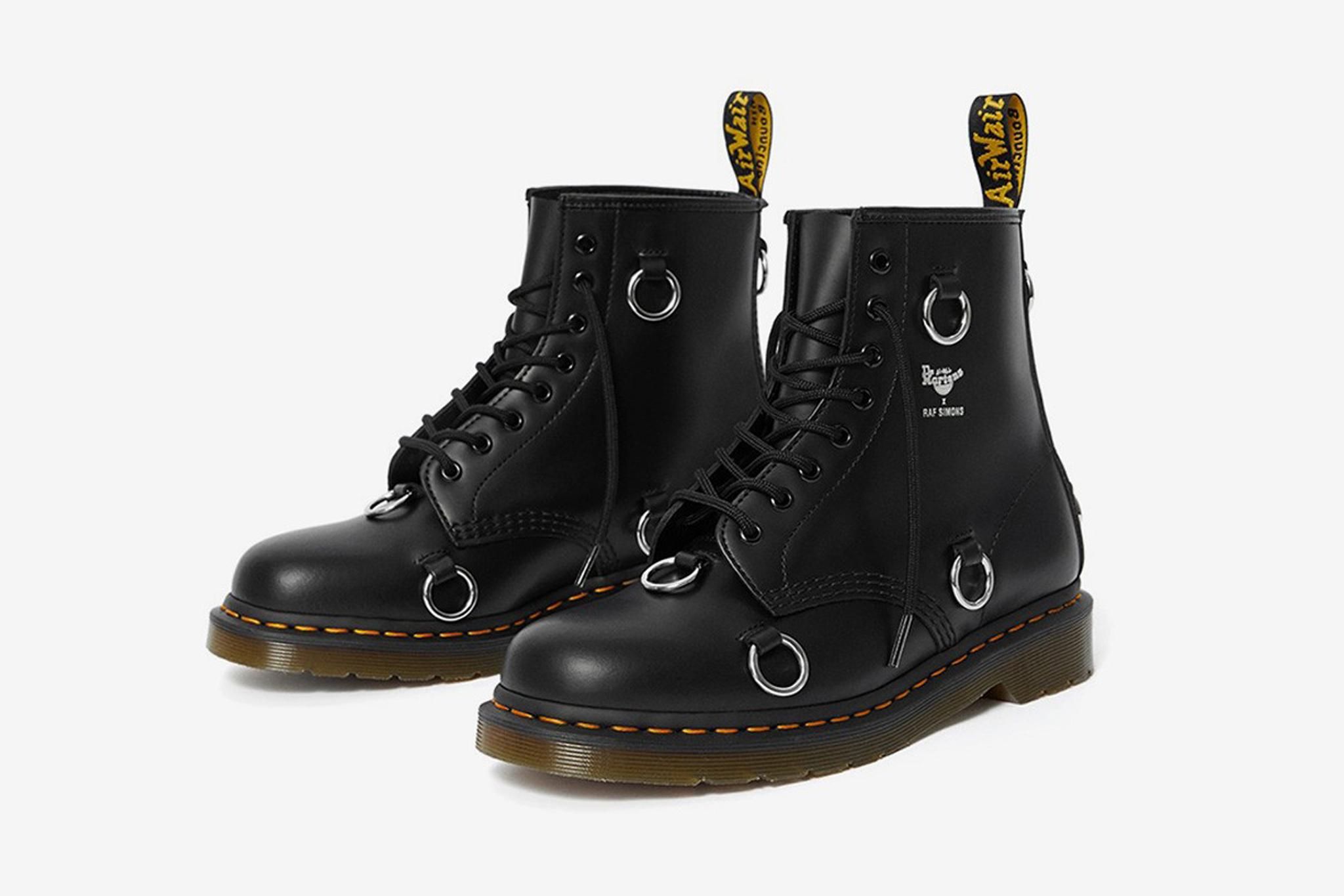 Raf Simons' Dr. Martens boot collab