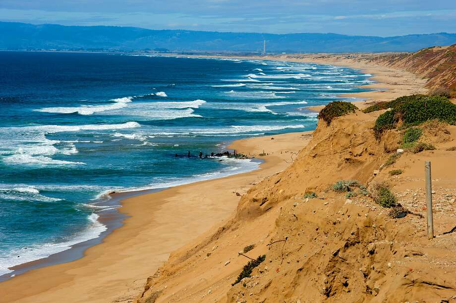 Miles of expansive beachfront backed by cliffs are a highlight at Fort Ord Dunes State Park that is scheduled to open in 2022. Photo: California State Parks