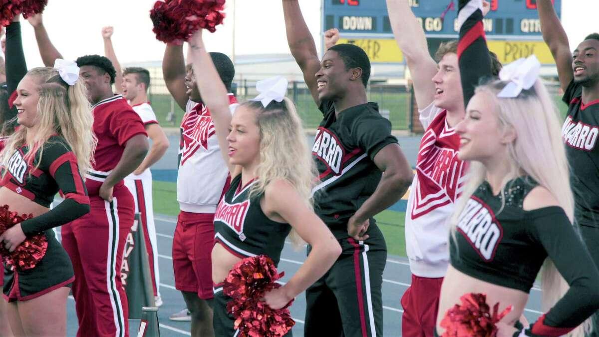Houston'sLexi Brumback is a member of the Navarro College Cheer Team.