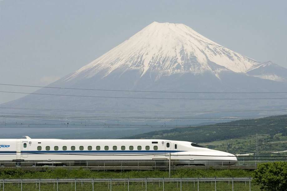 Texas Central's plans for a Houston to North Texas train are based on the Japanese Tokaido Shinkansen system, which has had zero fatalities in more than 50 years of operation. Photo: Texas Central