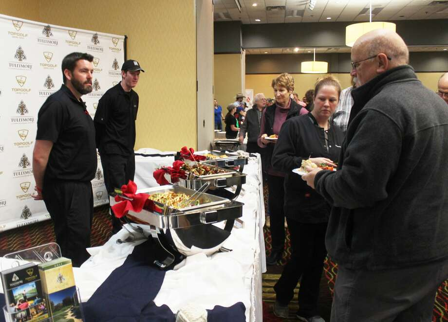 Hundreds of area residents enjoyed a wide variety of food from local vendors Tuesday evening at the 15th annual Taste of Mecosta. Photo: (Pioneer Photo/Taylor Fussman)
