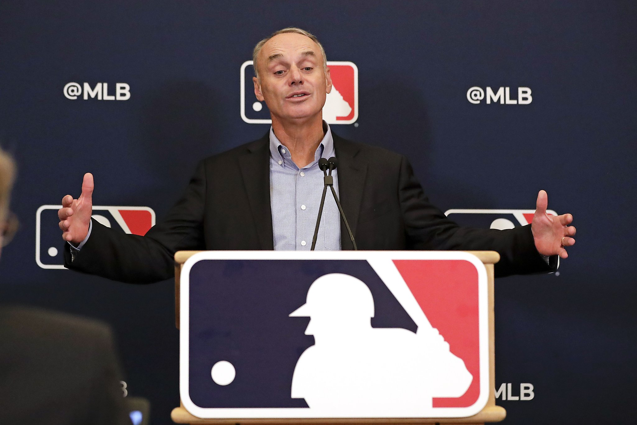 Rob Manfred pledges MLB will protect A's Mike Fiers, praises Fiers' actions