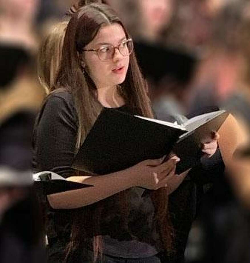 Marvelwood School student Jennifer Velez Scuderi recently participated in the CMEA Northern Region Music Festival Choir at New Britain High School. Photo: Courtesy Of Jennifer Moros / The News-Times Contributed