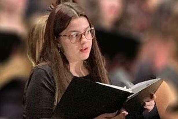 Marvelwood School student Jennifer Velez Scuderi recently participated in the CMEA Northern Region Music Festival Choir at New Britain High School.