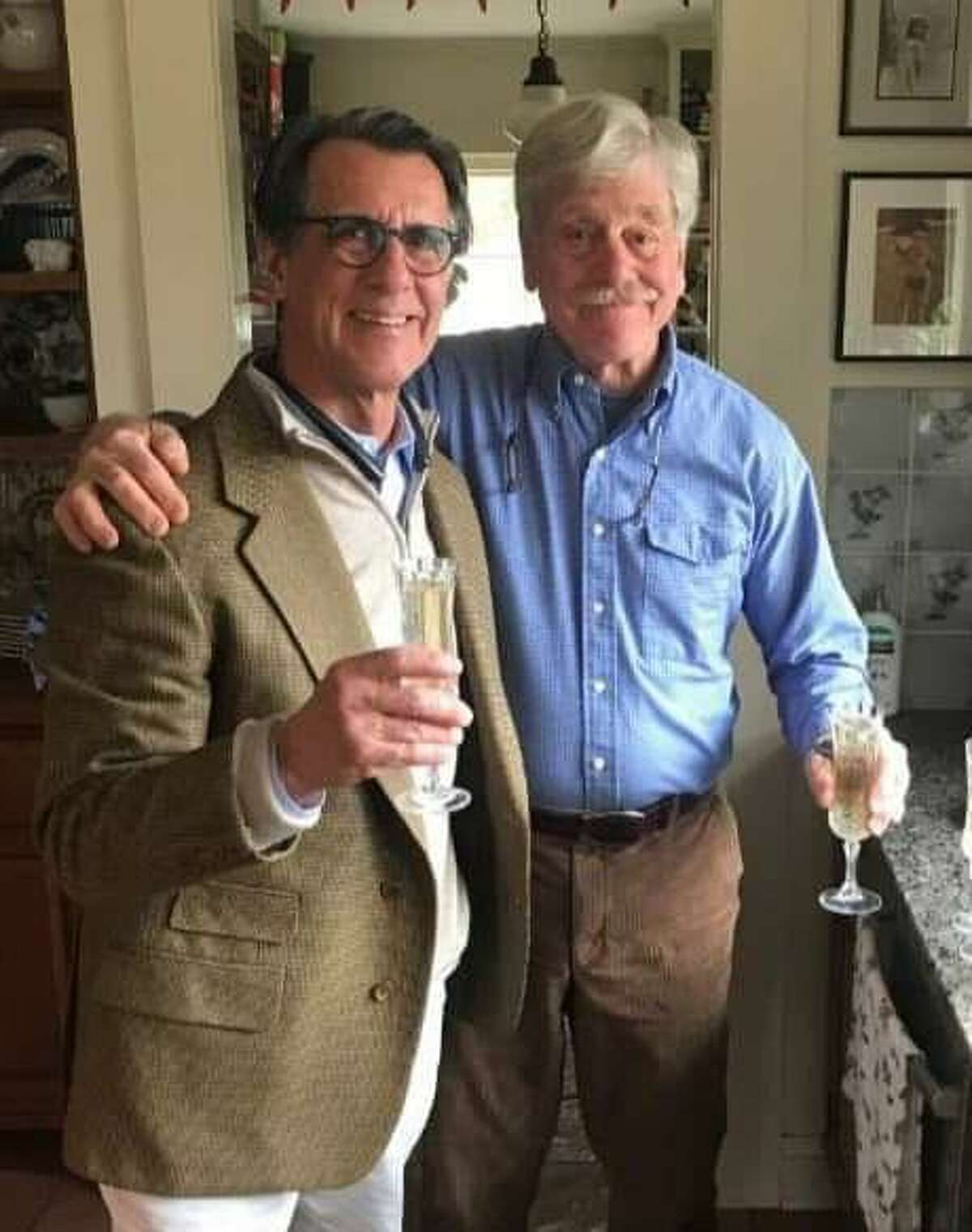 Above are, Dr. Mark Baus, left, and Dr. Harry Werner.