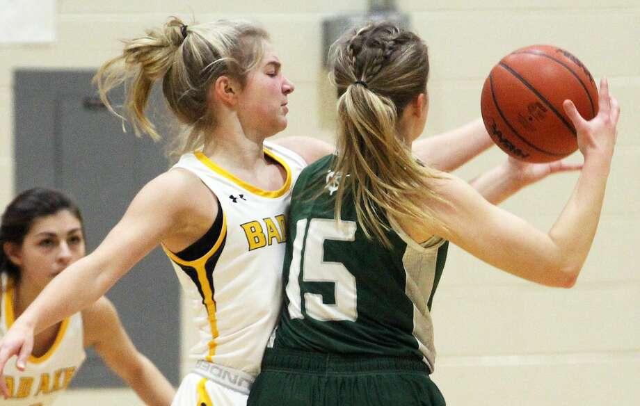 The Bad Axe girls basketball team played host to Laker on Tuesday night. Photo: Mark Birdsall/Huron Daily Tribune