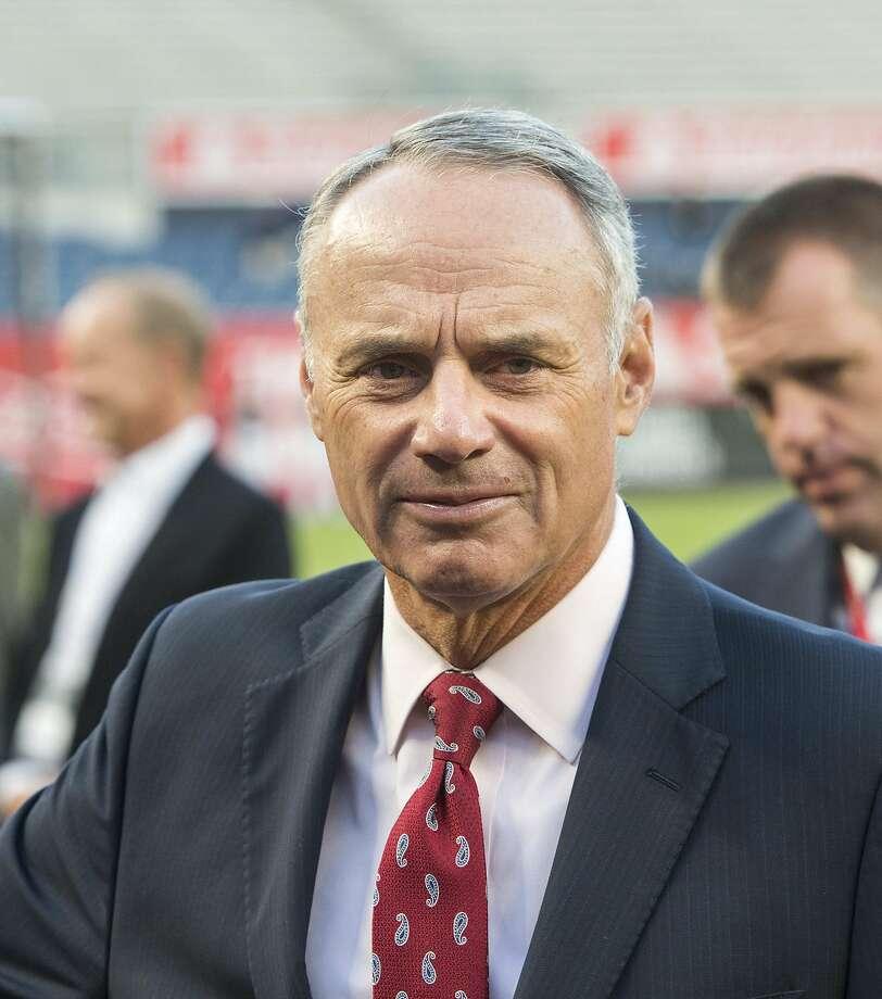 Major League Baseball commissioner Rob Manfred. Photo: Howard Simmons, TNS
