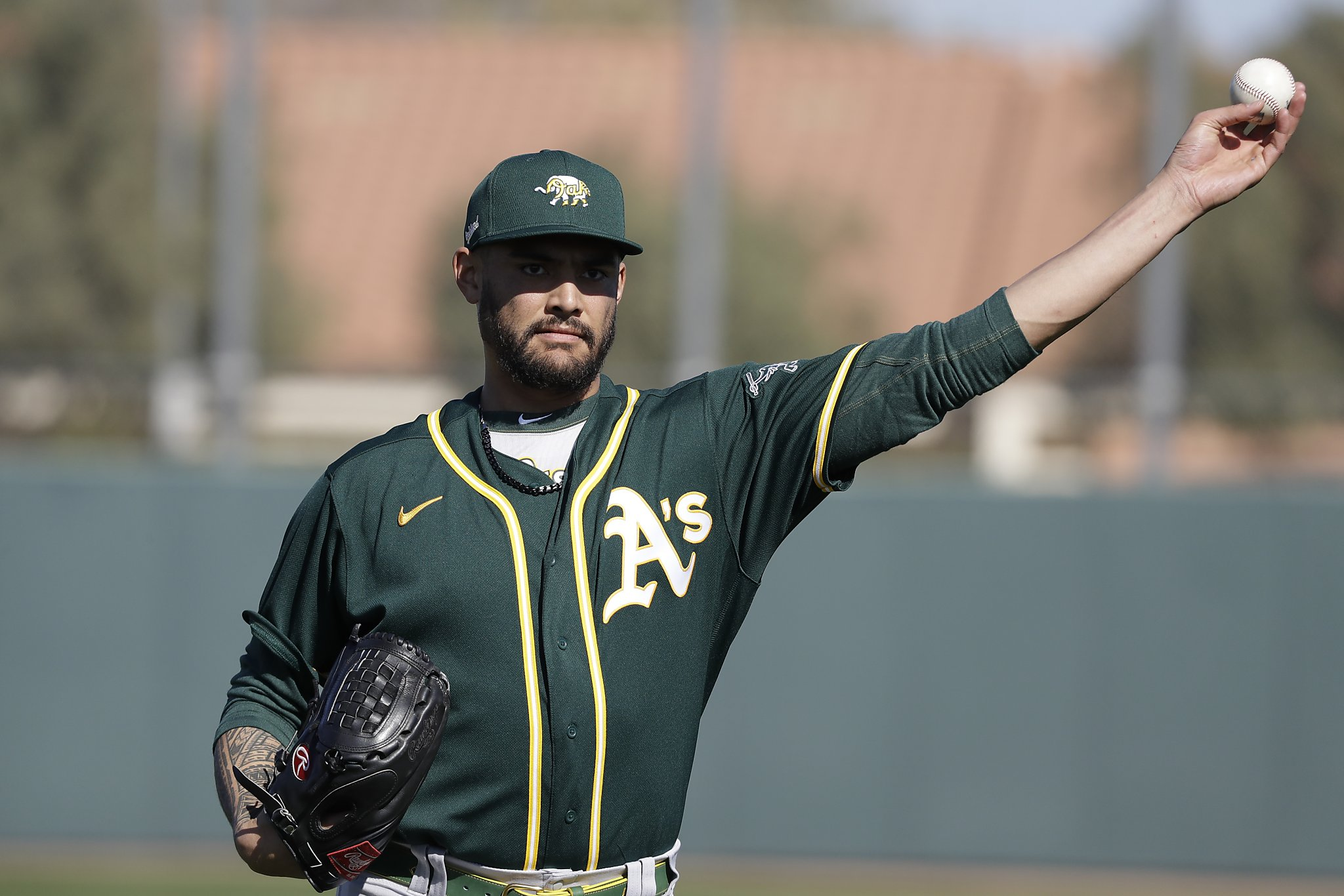 Wild-card loss taught A`s Sean Manaea he can...