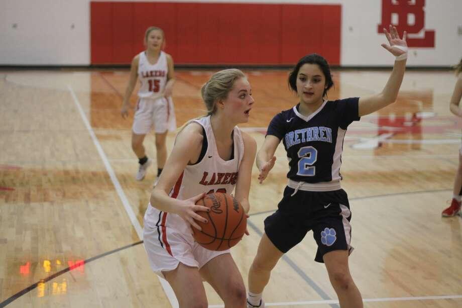 The Brethren girls basketball team topped Bear Lake on Tuesday, Feb. 18, 2020. Photo: Kyle Kotecki/News Advocate